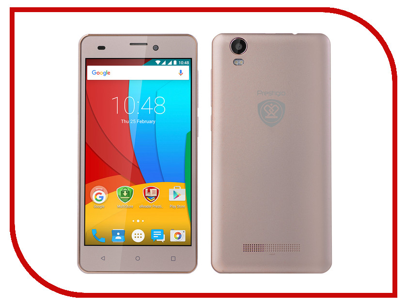 Сотовый телефон Prestigio Muze A5 Gold PSP5502<br>