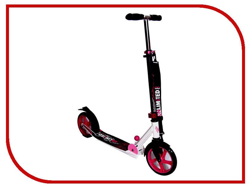 Самокат Unlimited NL100-205 White-Pink<br>