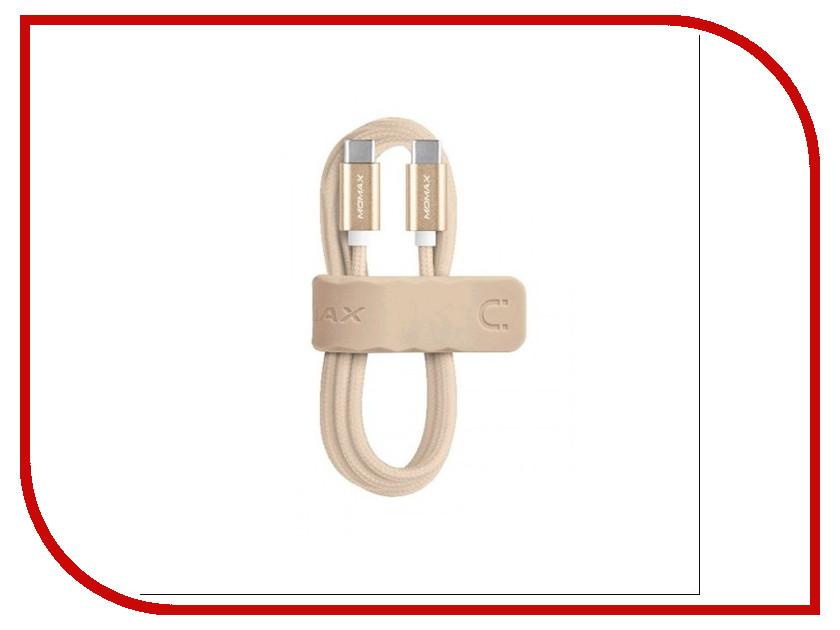 Аксессуар MOMAX Type-C Elite Link 1m DTC Gold<br>