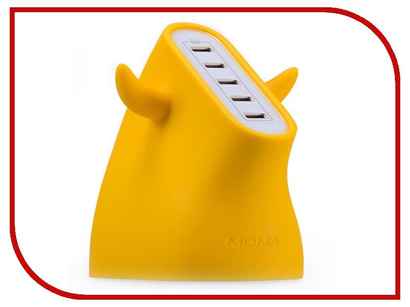 Зарядное устройство MOMAX U.Bull 5-port USB UM5S Yellow