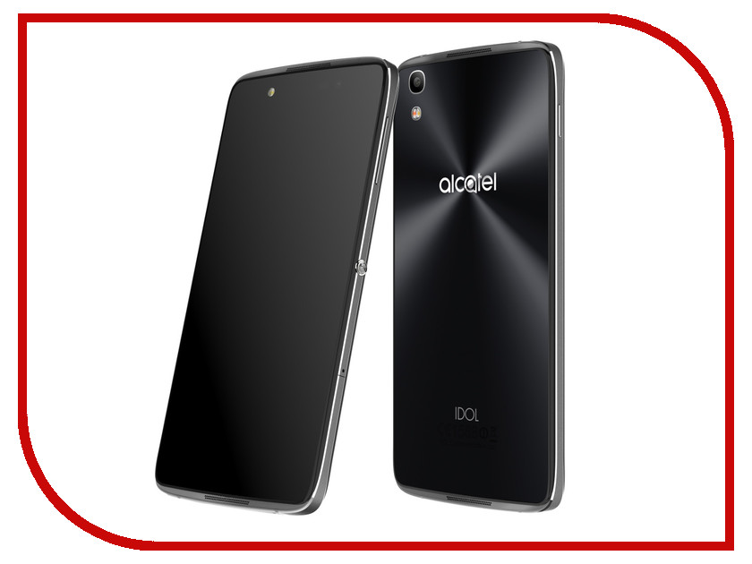 Сотовый телефон Alcatel 6055K Idol 4 Dark Grey alcatel one touch idol 4 6055k купить