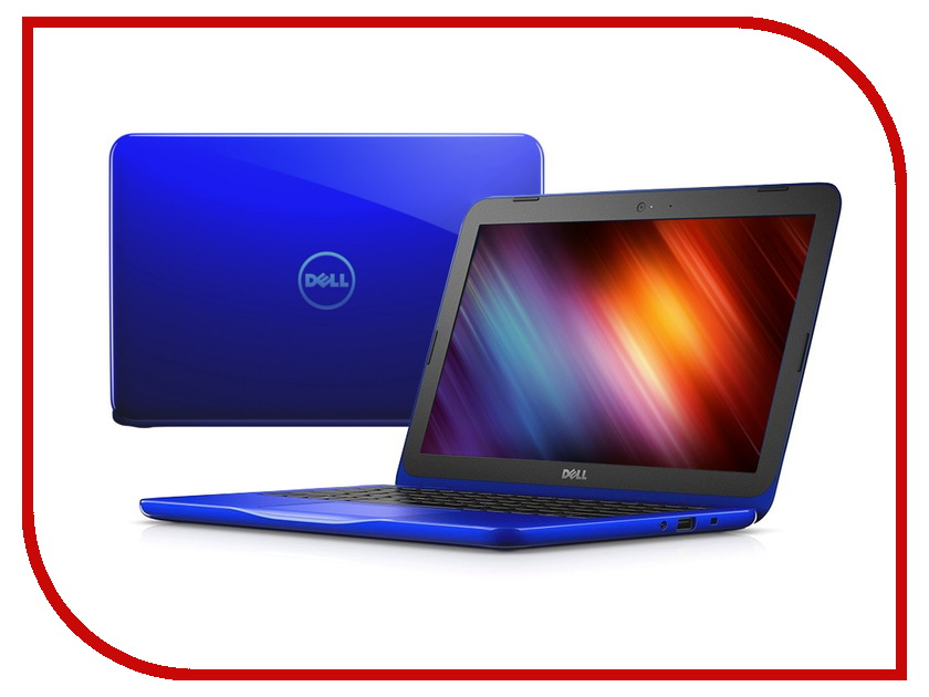 Ноутбук Dell Inspiron 3162 Blue 3162-4759 Intel Celeron N3050 1.6 GHz/2048Mb/500Gb/No ODD/Intel HD Graphics/Wi-Fi/Bluetooth/Cam/11.6/1366x768/Windows 10