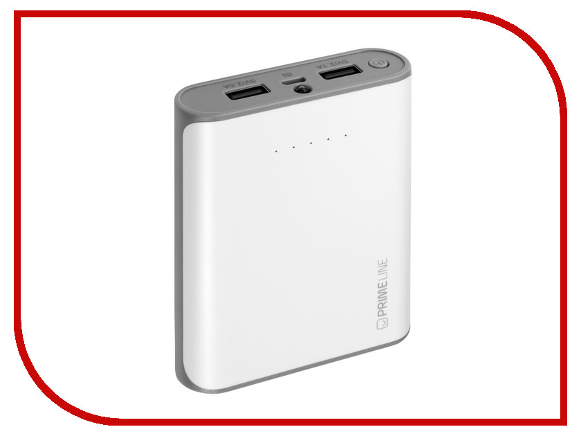 Аккумулятор Prime Line 8000mAh 2.5A White 3351