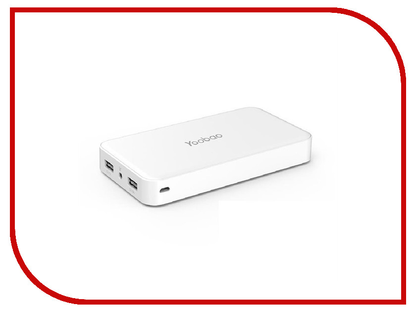 Аккумулятор Yoobao Power Bank M20 20000mAh White