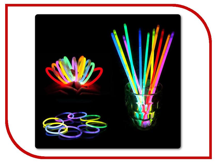 Светящиеся палочки-браслеты СмеХторг (100 штук)