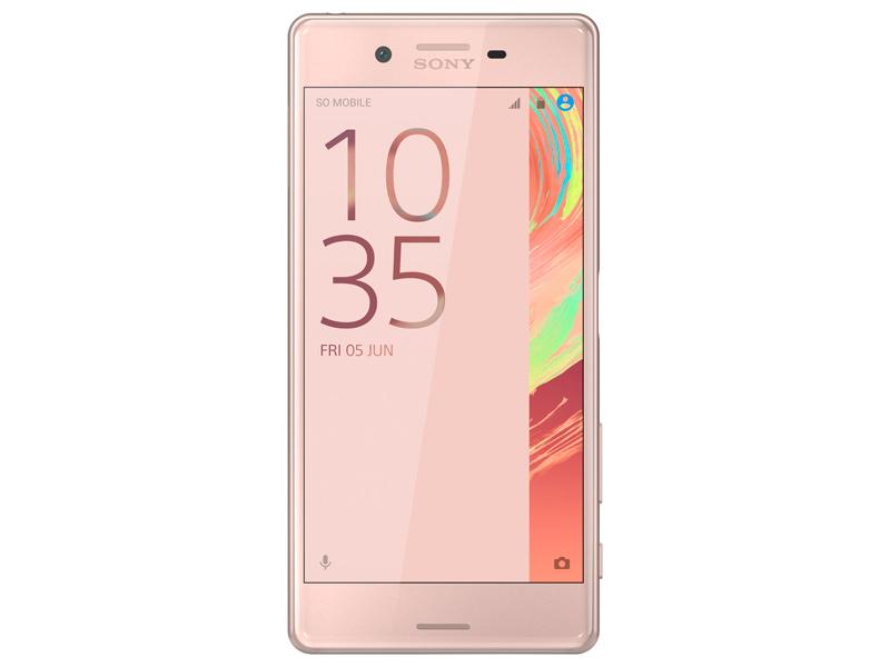 Сотовый телефон Xperia X Rose Gold