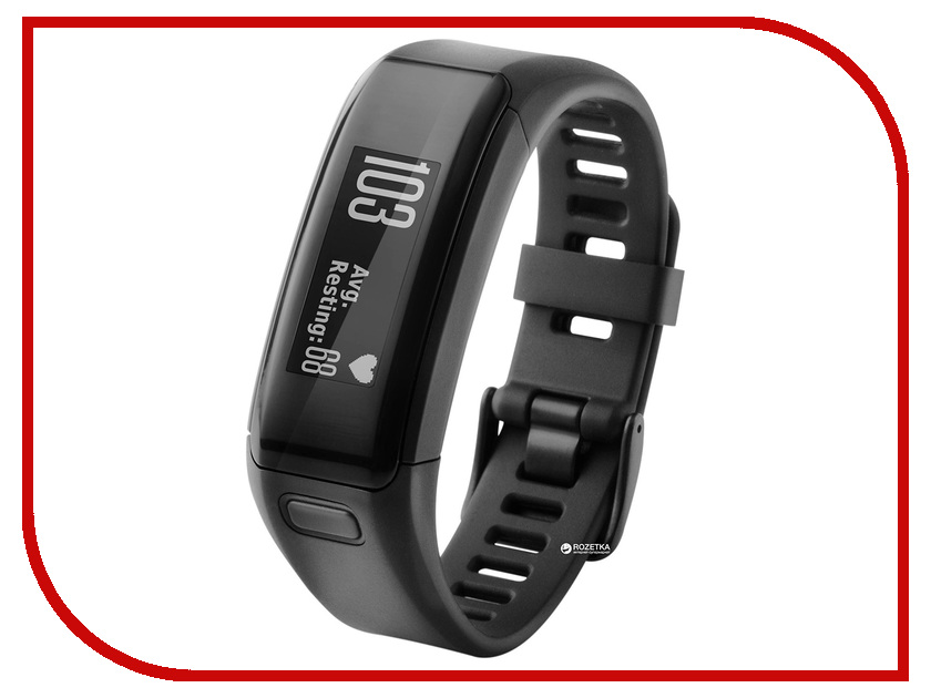 Умный браслет Garmin Vivosmart HR Black Large 010-01955-15