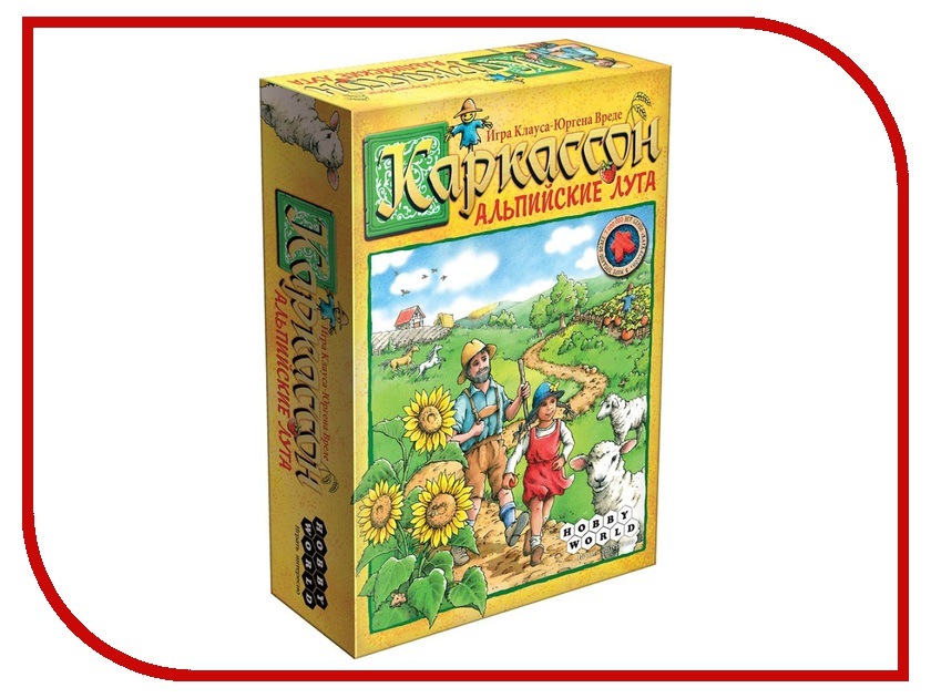 Настольная игра Hobby World Каркассон. Альпийские Луга 1532 hobby world игра каркассон королевский подарок