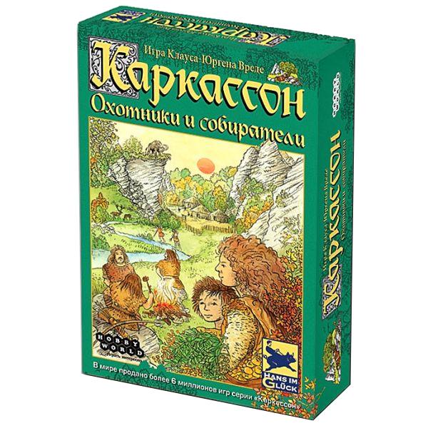 Настольная игра Hobby World Каркассон. Охотники и собиратели 1162