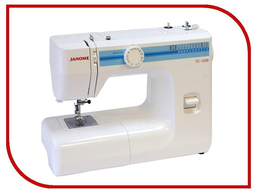 Швейная машинка Janome TC 1206 швейная машинка janome sew mini deluxe