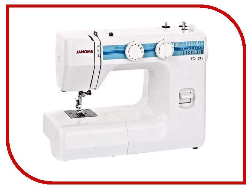 Швейная машинка Janome TC 1212<br>