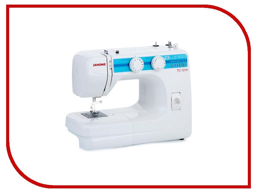 TC 1214  Швейная машинка Janome TC 1214