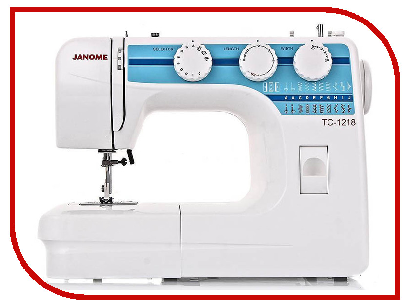 TC 1218  Швейная машинка Janome TC 1218