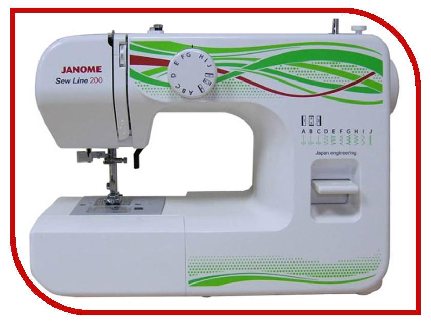 Швейная машинка Janome Sew Line 200 6030 janome