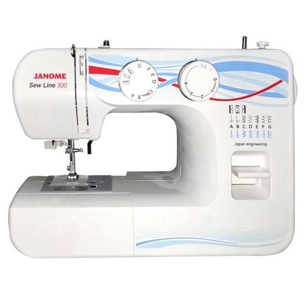 Швейная машинка Janome Sew Line 300