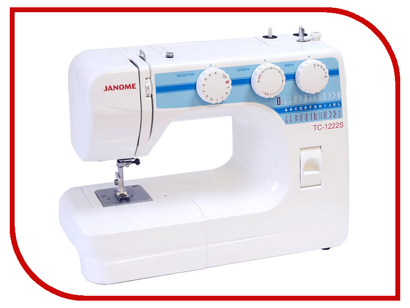 Швейная машинка Janome TC 1222S швейная машина janome tc 1222s белый [tc 1222s]