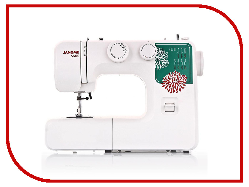 Швейная машинка Janome 5500 швейная машинка janome juno 507