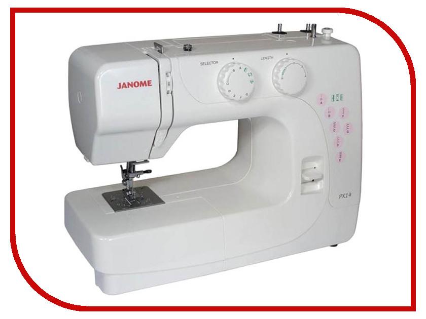 Швейная машинка Janome PX14 швейная машинка janome dc 2030