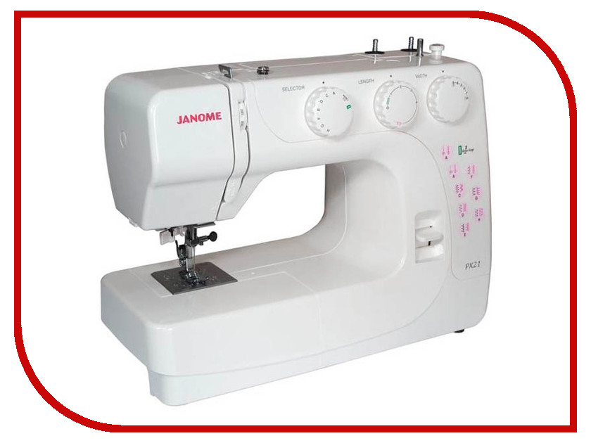 Швейная машинка Janome PX21 швейная машинка janome dc 2030