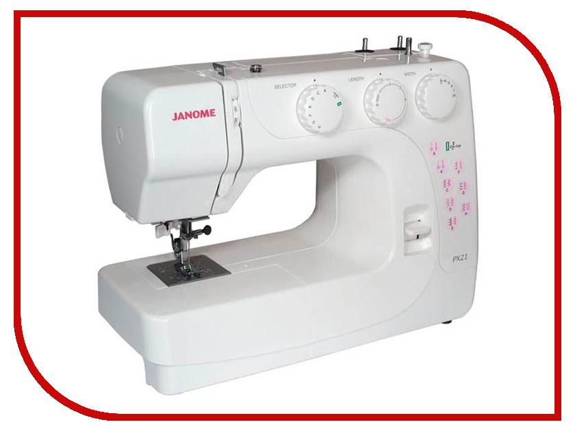 Швейная машинка Janome PX21 цена janome memory craft 5200