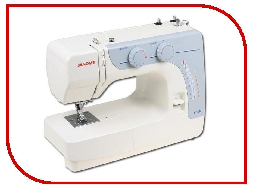 Швейная машинка Janome EL532 швейная машинка janome sew mini deluxe