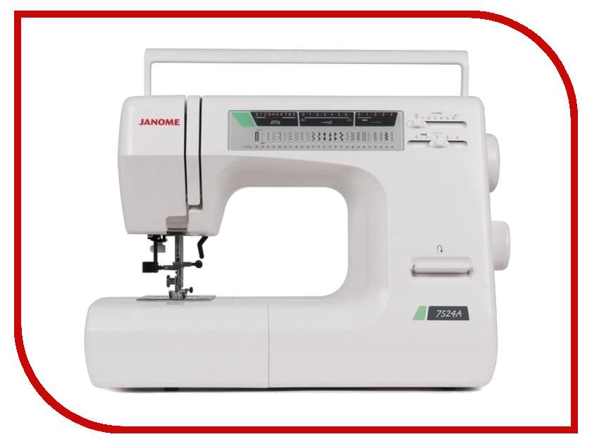 Швейная машинка Janome 7524A швейная машинка janome dc 2030