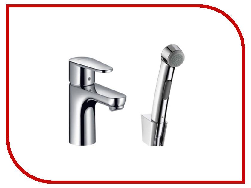 Смеситель Hansgrohe Talis E2 с гигиеническим душем 31165000 смеситель с душем недорого купить