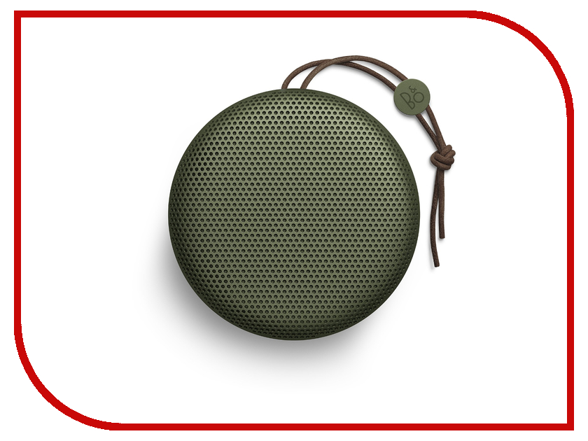 Колонка Bang & Olufsen BeoPlay A1 Moss Green колонка bang & olufsen beoplay a2 active natural