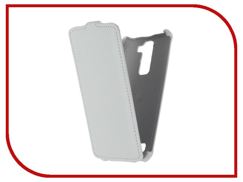 Аксессуар Чехол LG K8 Zibelino Classico White ZCL-LG-K8-WHT<br>