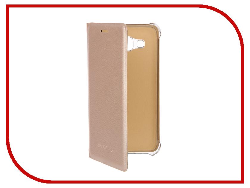 Аксессуар Чехол Samsung Galaxy J5 2016 ACQUA Wallet Extra Gold 54289