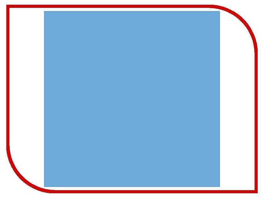 Фон FST 60x130 Blue Matt