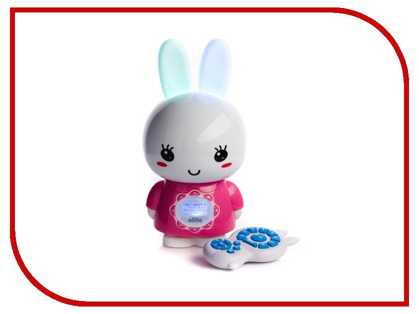Игрушка Alilo G7 Большой зайка Pink 60924 игрушка alilo v8 классный зайка blue 60903