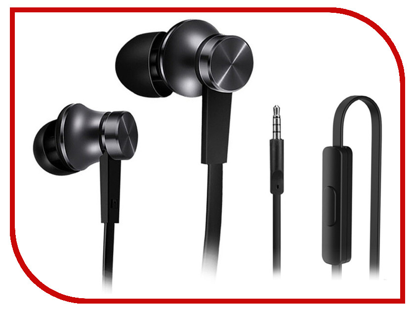 Xiaomi 1More Piston Basic Edition Black ZBW4308GL 1more super bass headphones black and red