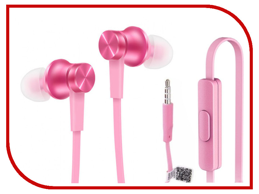 Гарнитура Xiaomi Piston Basic Edition Pink ZBW4310GL<br>