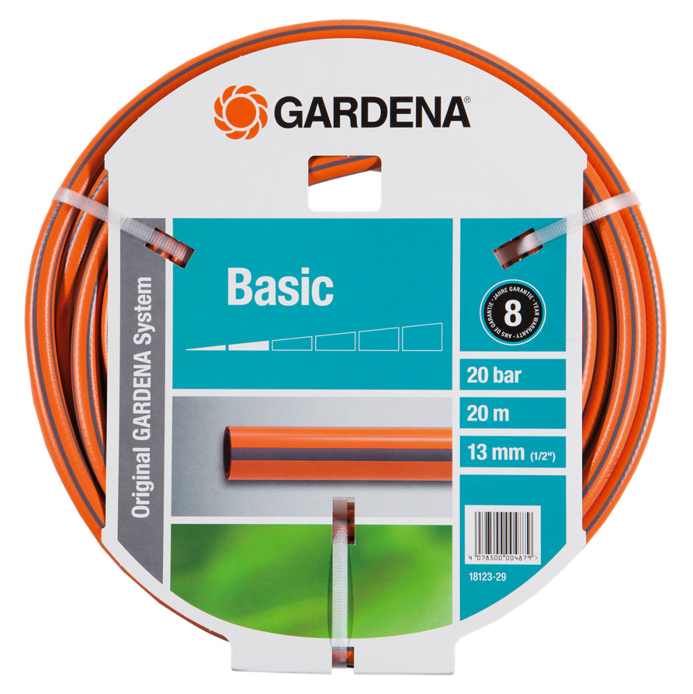 Шланг Gardena Basic HUS-18123-29.000.00