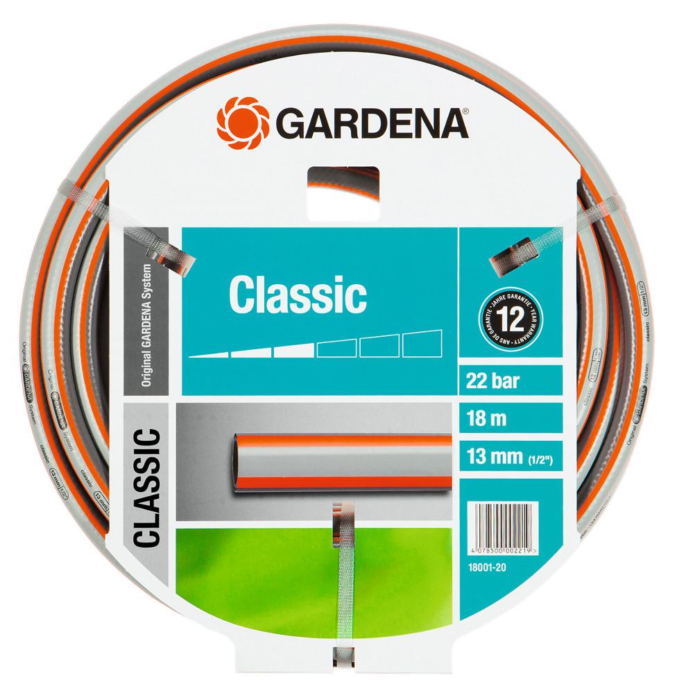 Шланг Gardena Classic HUS-18001-20.000.00 шланг gardena 13015 20