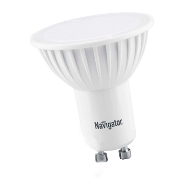 Лампочка Navigator GU10 5W 220-240V 3000K 380Lm Warm Light NLL-PAR16-5-230-3K-GU10 / 94 264