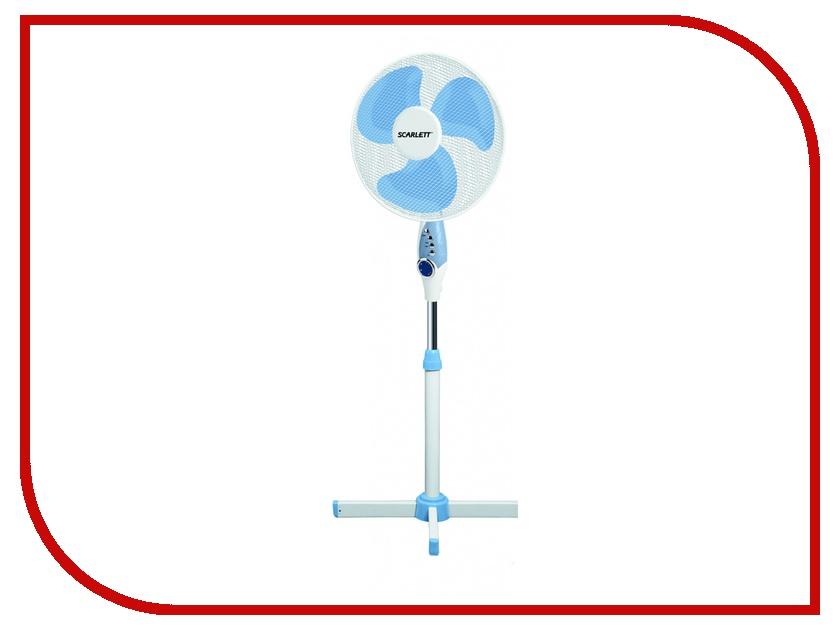 Вентилятор Scarlett SC-379 White напольный вентилятор scarlett sc 1176