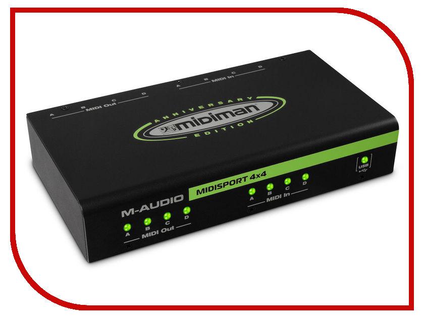 Звуковая карта M-Audio MidiSport 4x4 USB<br>