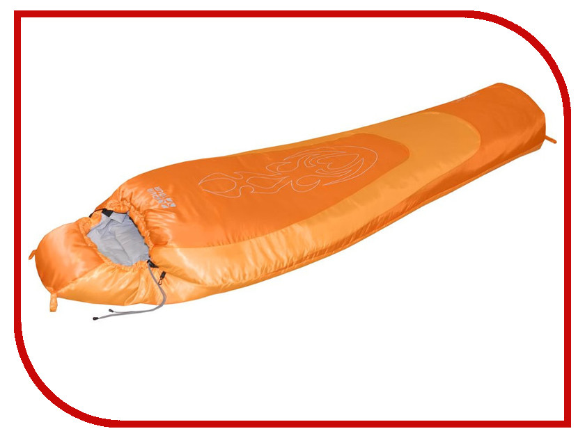 Спальник Nova Tour Сибирь 20 V2 Левый Orange 95421-233-Left