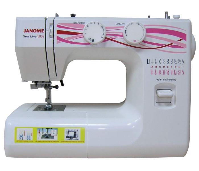 цена на Швейная машинка Janome Sew Line 500s