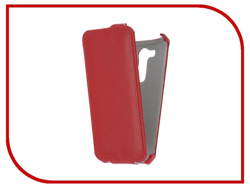 Аксессуар Чехол ASUS ZenFone Go ZB452KG Gecko Red GG-F-ASZB452KG-RED аксессуар чехол prestigio muze d3 gecko red gg f presmuze red
