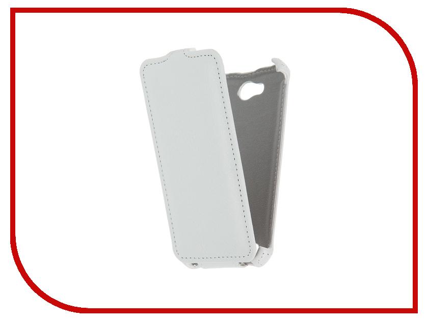 Аксессуар Чехол для Micromax D306 Bolt Gecko White GG-F-MICD306-WH bp 15600mah high quality portable mobile power bank for iphone 5s samsung htc white green