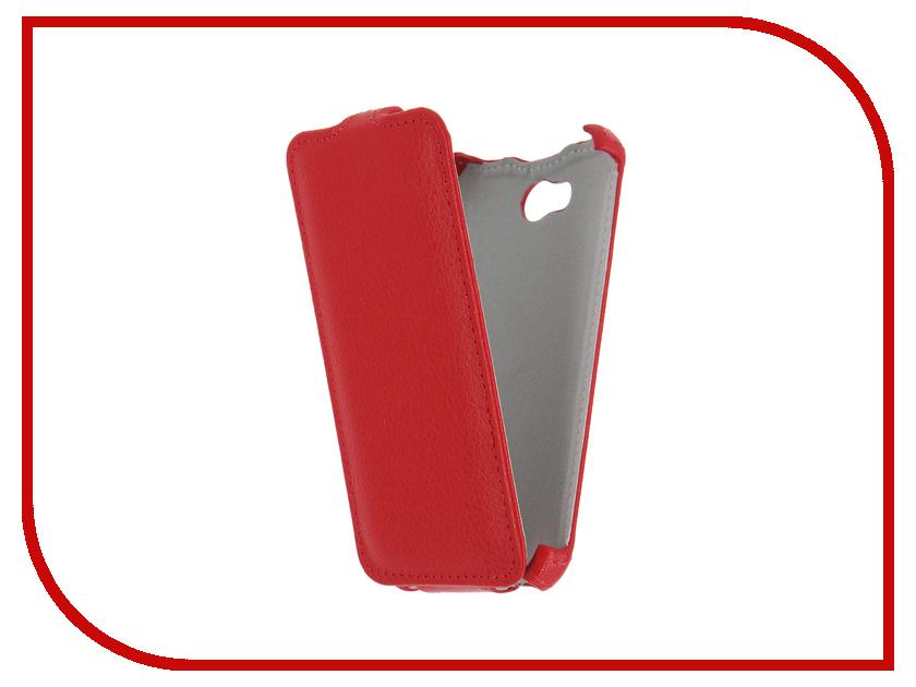 Аксессуар Чехол для Micromax Q379 Bolt Gecko Red GG-F-MICQ379-RED смартфон micromax bolt q379 yellow