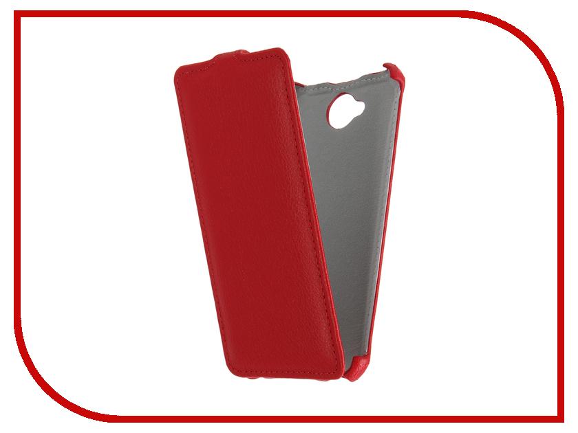 Аксессуар Чехол Microsoft Lumia 650 Gecko Red GG-F-MICL650-RED
