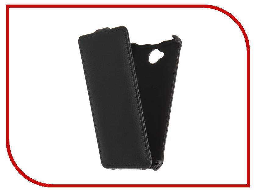 Аксессуар Чехол Microsoft Lumia 650 Gecko Black GG-F-MICL650-BL