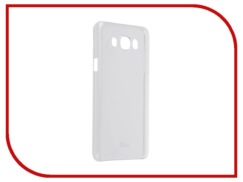 Аксессуар Чехол Samsung Galaxy J7 2016 SkinBox 4People Crystal Transparent T-S-SGJ7-007<br>