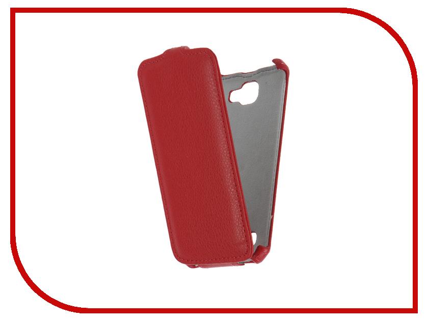 Аксессуар Чехол LG K4 K130E Gecko Red GG-F-LGK4-RED аксессуар чехол prestigio muze d3 gecko red gg f presmuze red