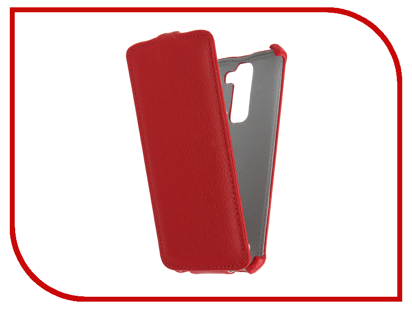 Аксессуар Чехол LG K7 X210ds Gecko Red GG-F-LGK7-RED<br>