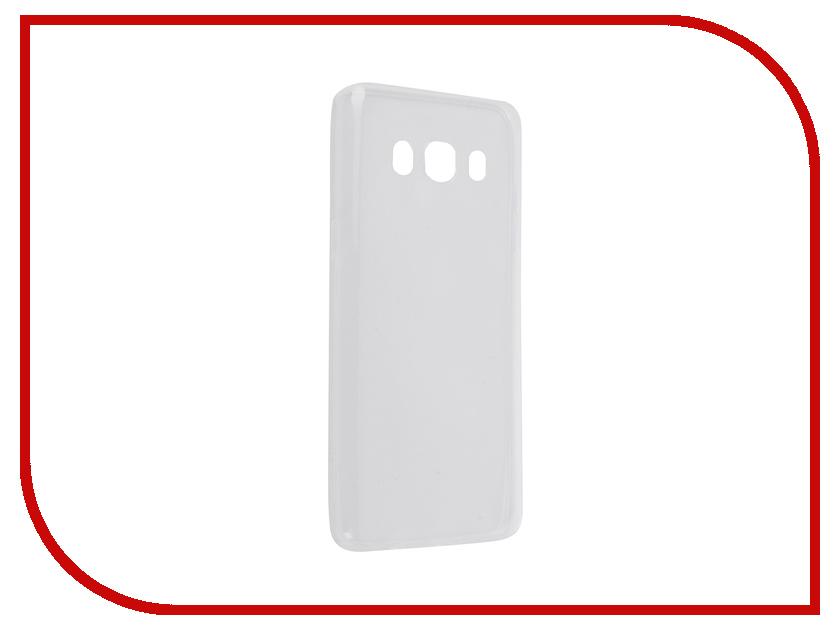Аксессуар Чехол Samsung Galaxy J5 2016 SkinBox 4People Slim Silicone Transparent T-S-SGJ52016-006<br>